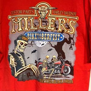 Millers Custom Parts 4 Harley Davidson 2007 Red XL